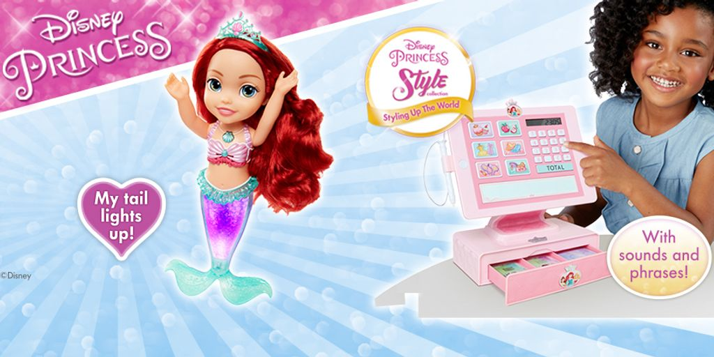 Disney Princess bundles from Jakks Pacific!
