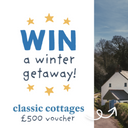Win a £500 gift voucher to spend at Classic Cottages