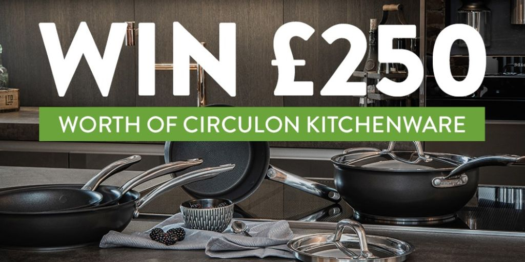 Win £250 Circulon Kitchenware