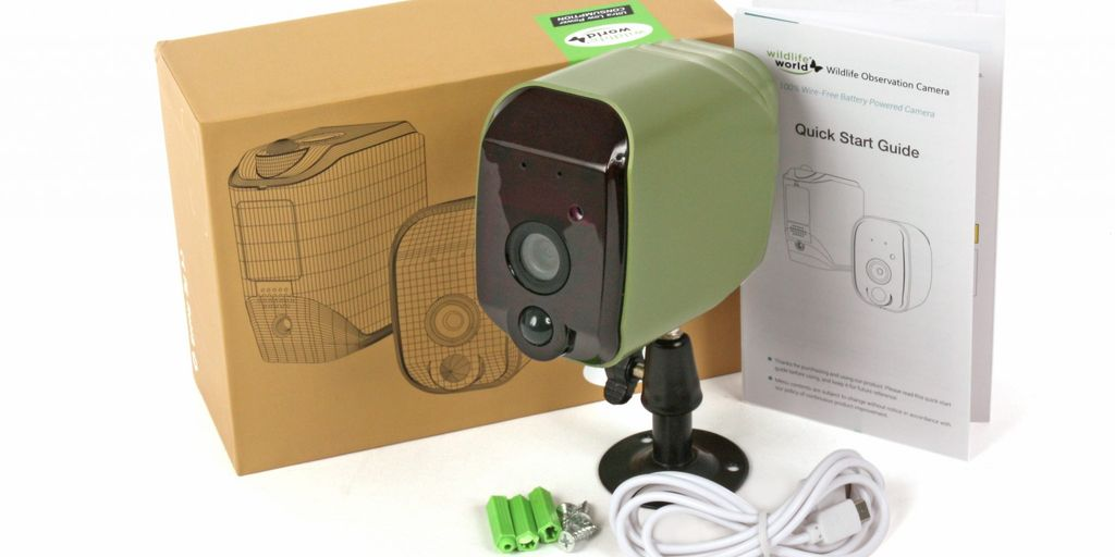 Win a Wireless wildlife observation camera worth £149.99